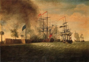 Sir_Peter_Parkers_Attack_Against_Fort_Moultrie