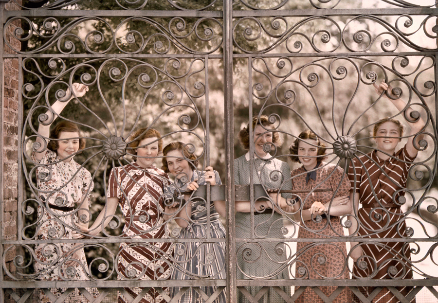 The ironwork of Ashley Hall, 1939